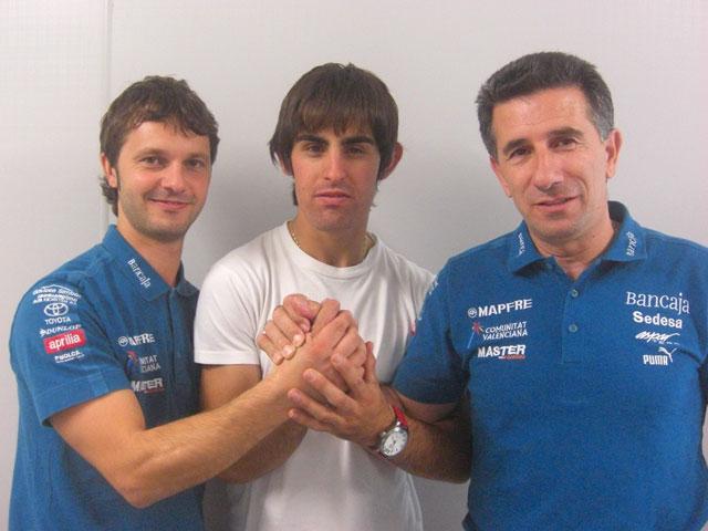 Bradley Smith y Julián Simón, juntos en el Bancaja Aspar Team 2009