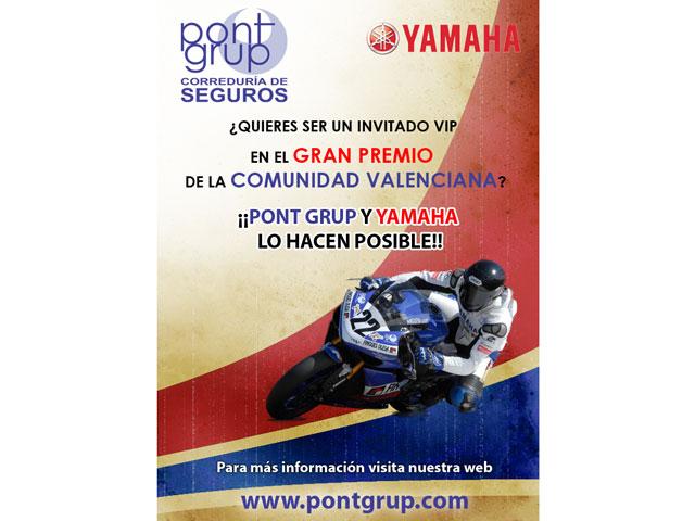 Yamaha y Pont Grup te invitan a Cheste