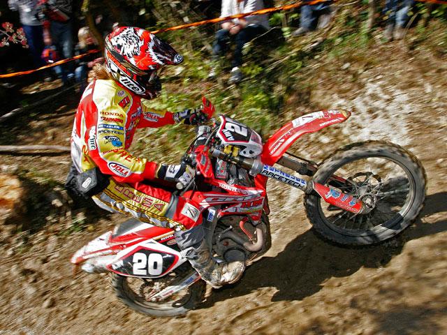Mika Ahola (Honda), campeón del mundo de Enduro 1 2008