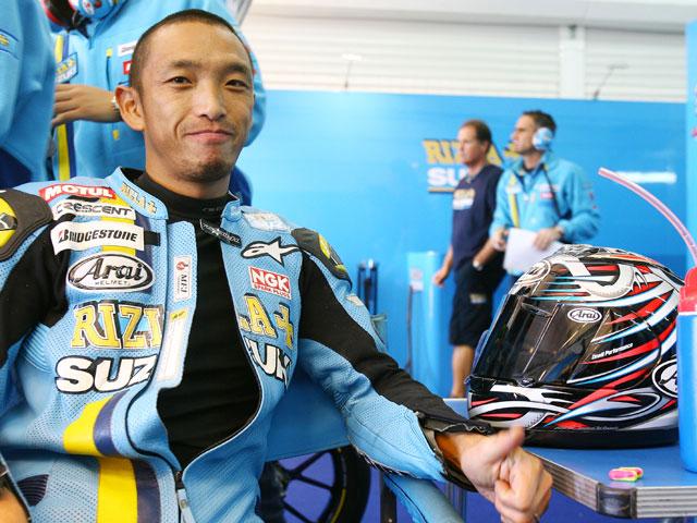 Nobuatsu Aoki participará como wild-card de Suzuki en Sepang