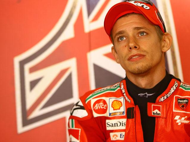 Casey Stoner (Ducati) quiere operarse de su lesión de escafoides