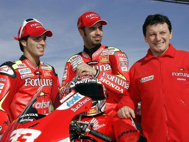Los pilotos Fortuna Honda vuelven a la acción