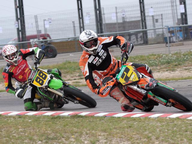 Francesc Cucharrera (KTM) campeón del CeSMotard