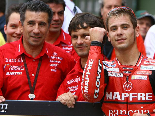 Aspar piensa ya en MotoGP 2010