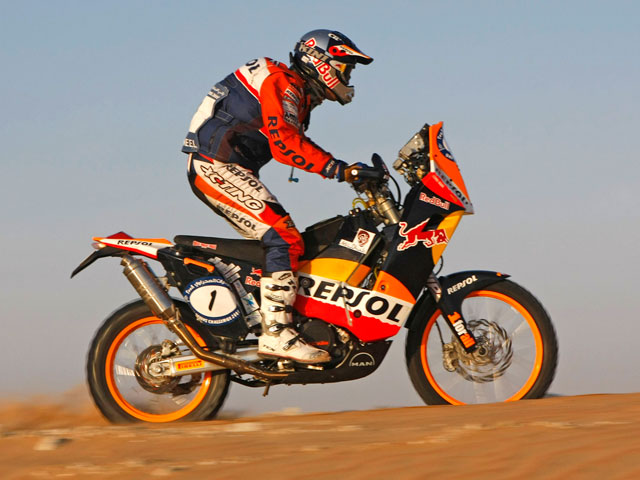 Marc Coma gana la última etapa del UAE Desert Challenge