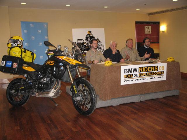 Ruta de los Exploradores BMW Riders 08-09