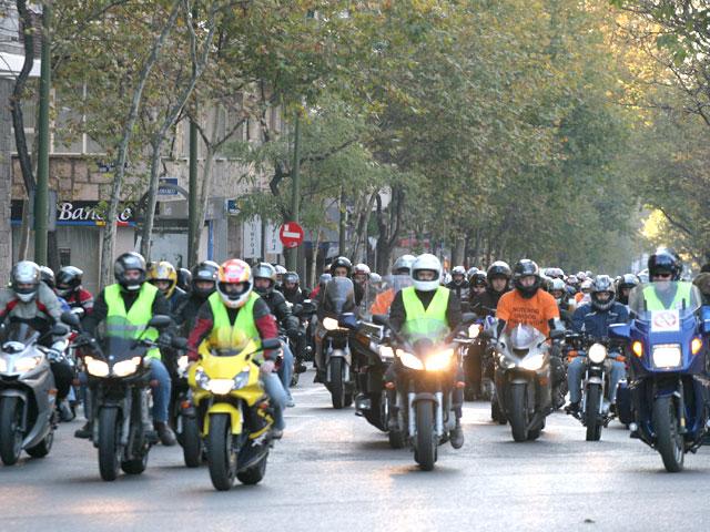 Manifestación Motera 8N8: SUSPENDIDA