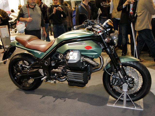 Novedades 2009: Moto Guzzi Griso 8V SE