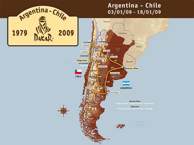 Dakar Argentina-Chile 2009
