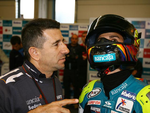 Sergio Gadea seguirá con el equipo Bancaja Aspar