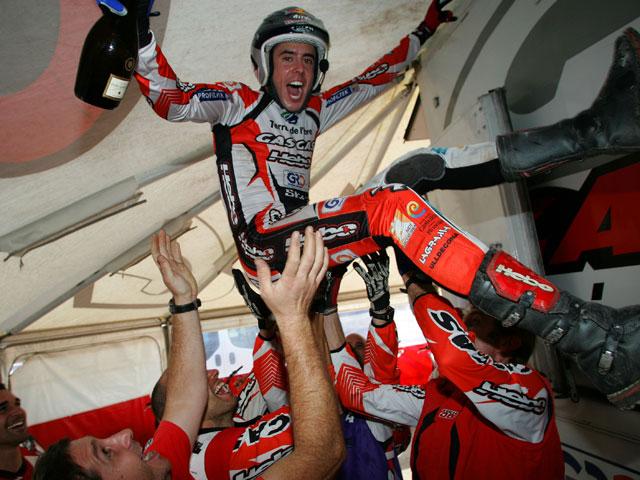 Adam Raga (Gas Gas) habla de su título de campeón de España de trial