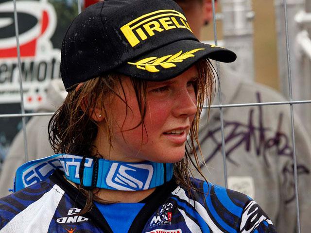 Katherine Prumm, lesionada