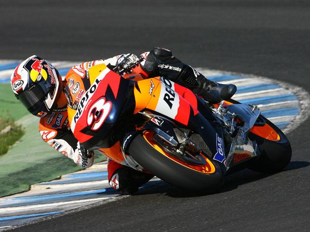 MotoGP: Pedrosa (Honda) domina los entrenamientos de Jerez