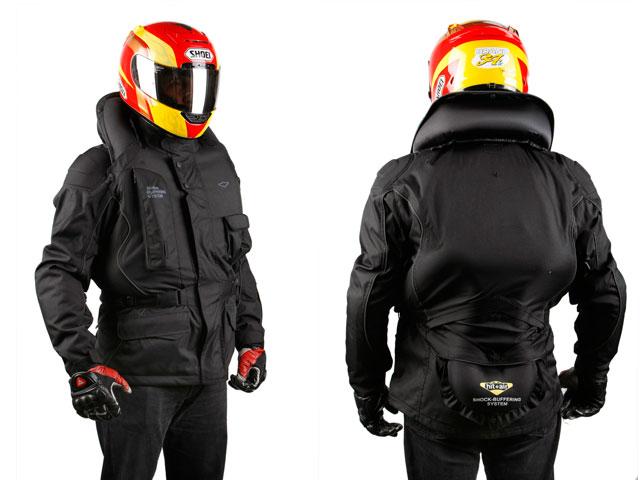 Airbag para moto. Hit-Air Autobahn 2
