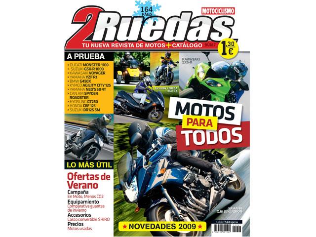 2Ruedas MOTOCICLISMO: nuevo número ya a la venta