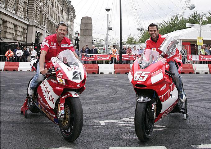 Ducati y Ferrari juntos