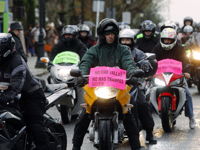 Manifestaciones moteros 13 de diciembre: Fuimos cerca de 17.000