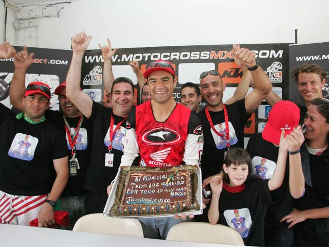"""Javier García Vico: """"Continuaré vinculado a Honda"""""""