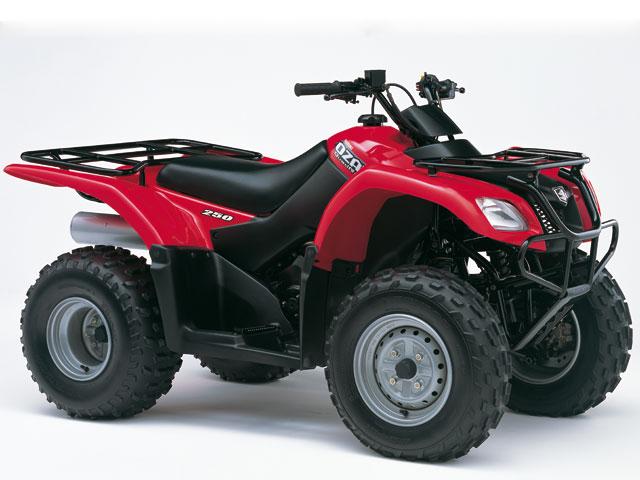 Suzuki ATV (2002-2009)  El gigante despierta
