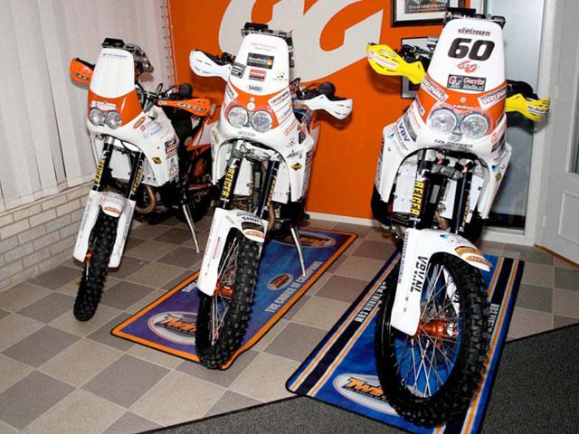 Gas Gas debutará con cuatro pilotos en el Dakar 2009