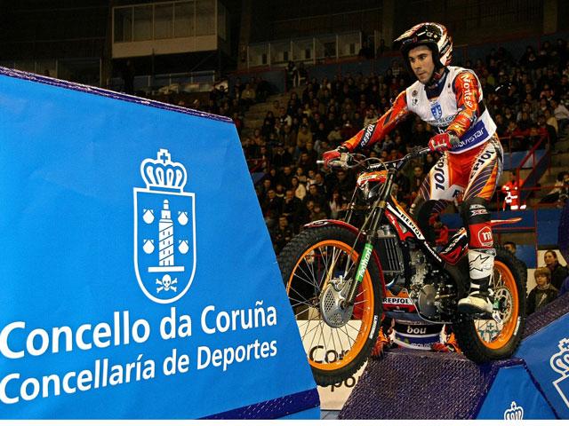 Toni Bou: Campeón de España de Trial Indoor 2008