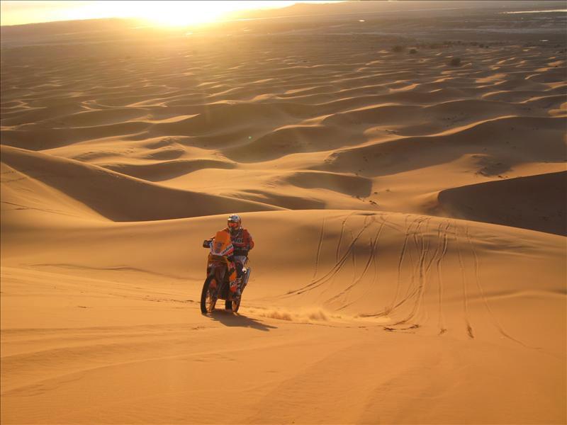 Marc Coma comenta el recorrido del Dakar 2009