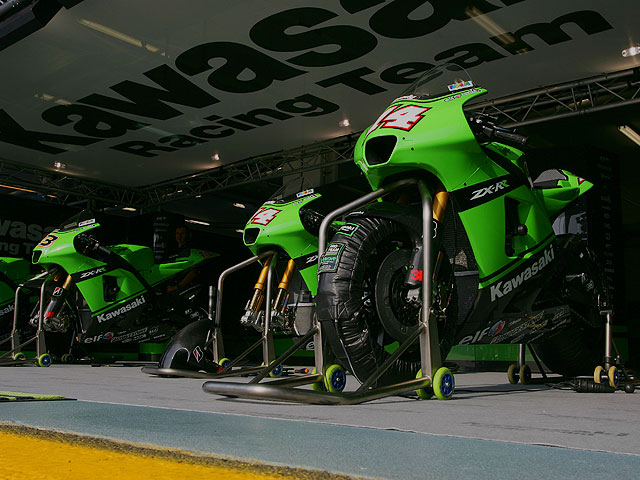 Kawasaki se retira de Moto GP