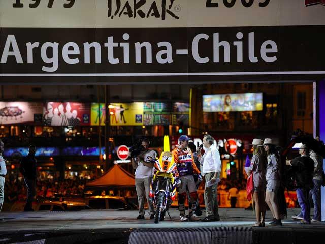 Dakar 2009. Coma con KTM inaugura el Dakar gaucho con una victoria