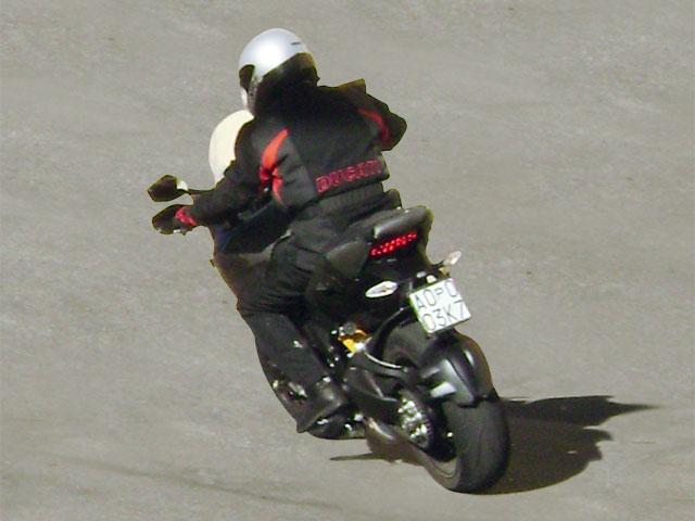 Ducati 1098 ¡de enduro!