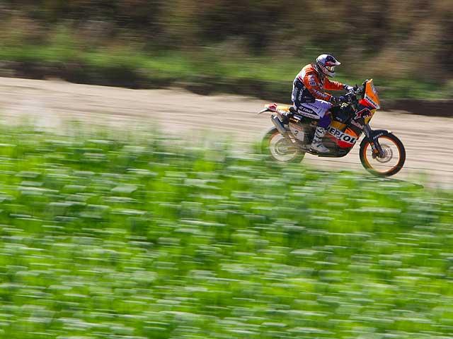 Dakar 2009. Coma (KTM) sigue mandando