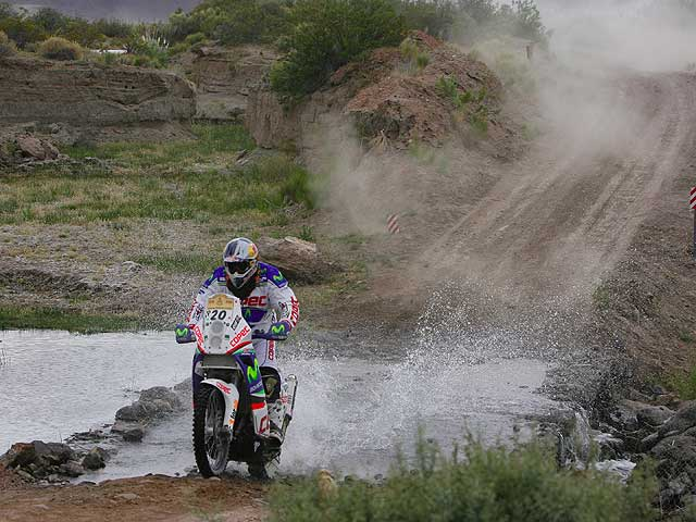 Dakar 2009. Jonah Street (KTM) se lleva la quinta