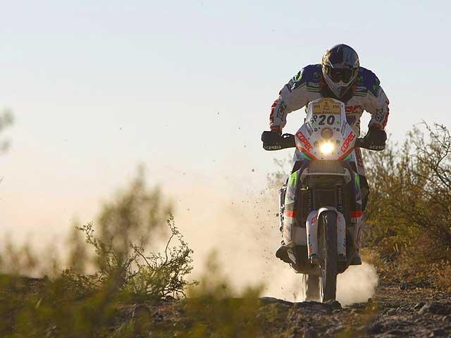 """Dakar 2009. López (KTM) gana en """"casa"""". Coma, más líder"""
