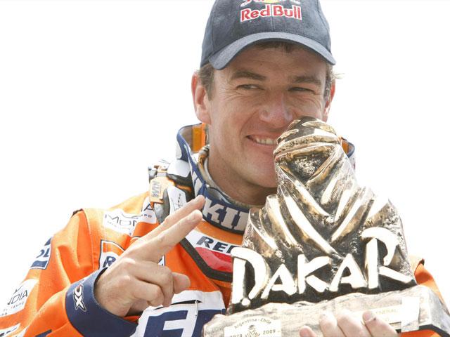 Marc Coma, todas las cifras del campeón del Dakar 2009 en motos