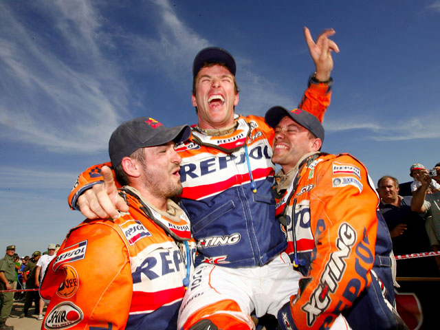 Marc Coma campeón del Dakar 2009. Galería de imágenes