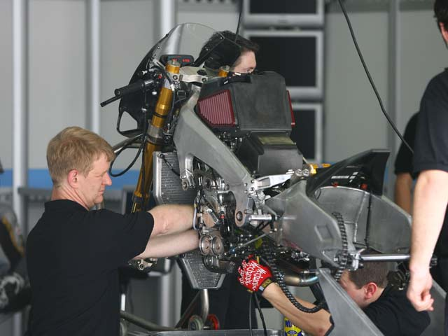 Ilmor propone un acuerdo a Kawasaki para el Mundial de MotoGP 2009