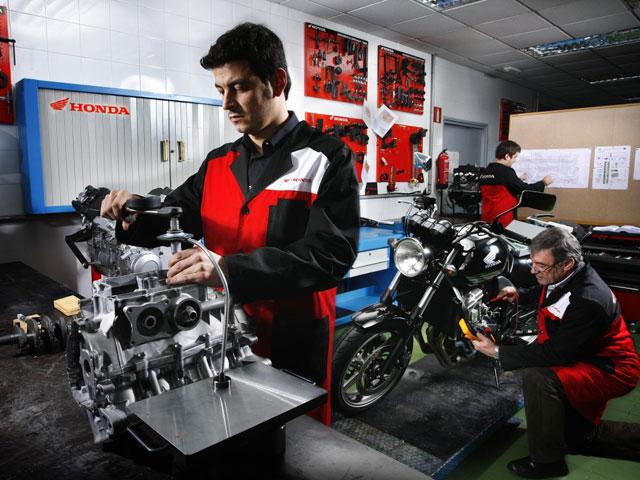 Concurso Nacional de Técnicos de Honda