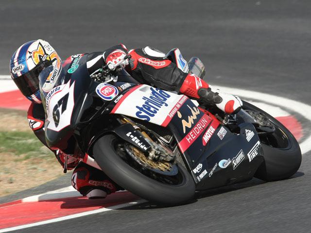Shane Byrne (Ducati) se lleva hasta el simulacro de Superpole