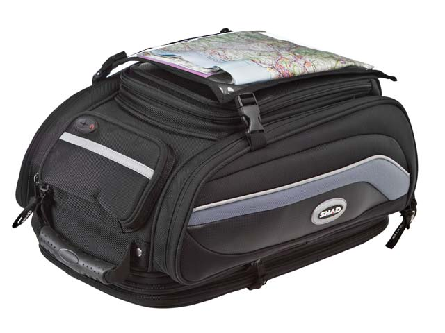 Bolsas para viajar en moto Shad SB70 y SB30