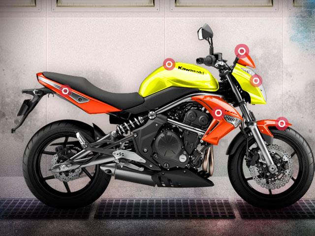 Diseña y gana tu propia Kawasaki ER-6n