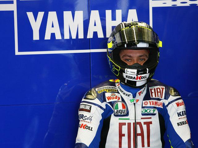 Accidente doméstico de Valentino Rossi