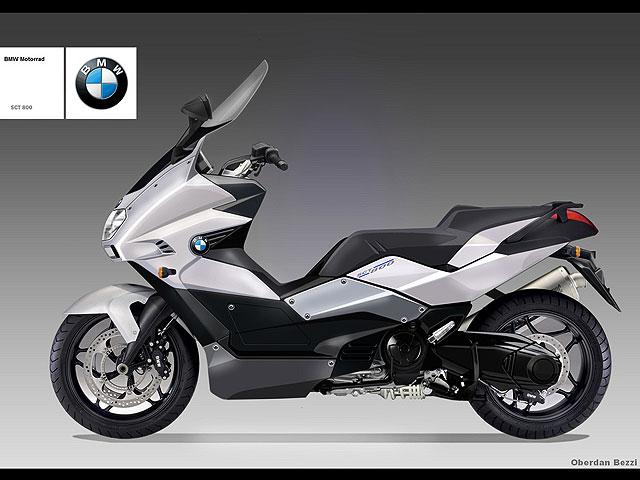 BMW SCT 800, ¿el maxiscooter alemán?