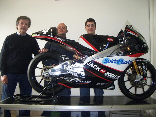 Santi Mulero, técnico de Pons Racing, vuelve a la escuela