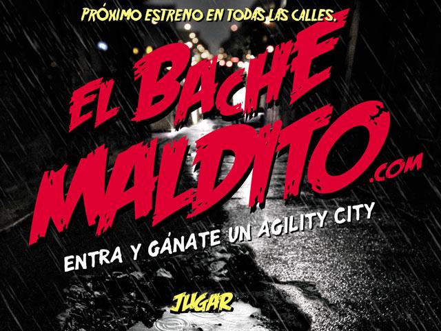 """KYMCO lanza """"El bache maldito"""". Gana un Agility City"""
