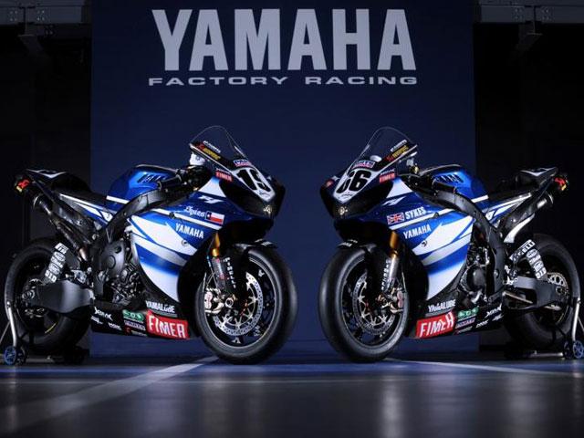 Colores de guerra para el Yamaha World Superbike Team