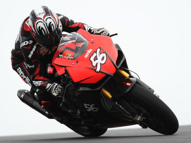 Nakano (Aprilia) y Laconi (Ducati) marcan los mejores tiempos