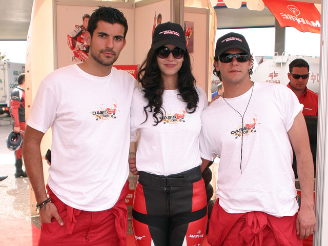 Diseña la camiseta Oasis de los Grandes Premios de Jerez y de Valencia
