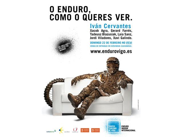 Todo a punto para el Enduro Indoor de Vigo