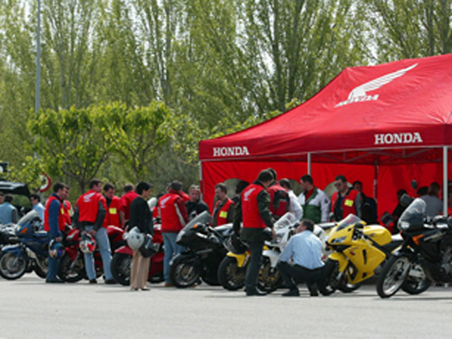 Calendario de los Honda Day 2009