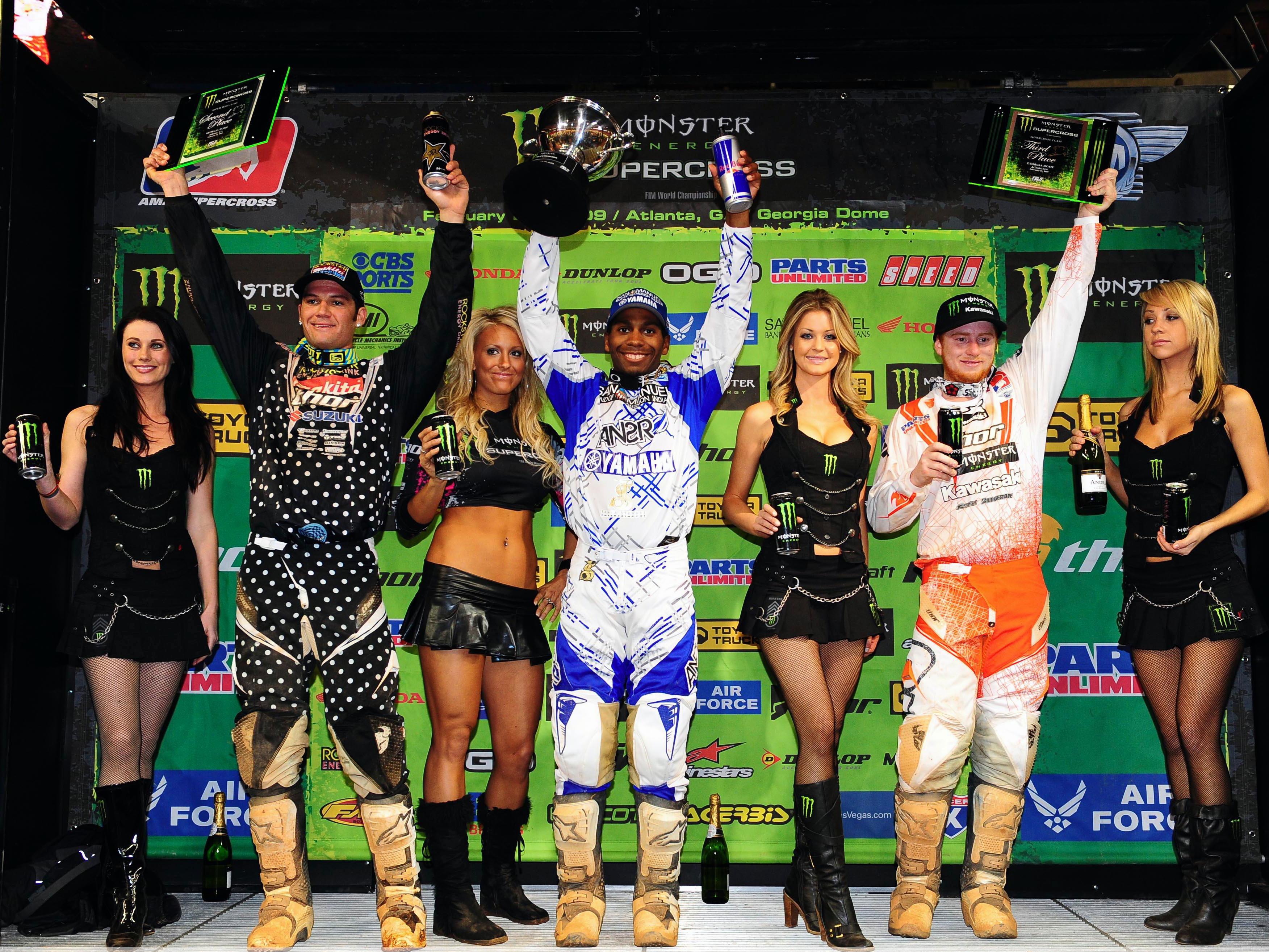 James Stewart (Yamaha) y Chad Reed (Suzuki) se juegan el título