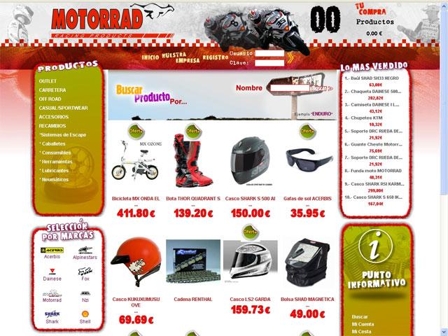 Motorrad abre su tienda virtual